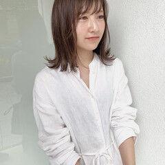 外ハネ 髪質改善カラー ナチュラル 外ハネボブ ヘアスタイルや髪型の写真・画像