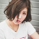 ボブ パーマ 韓国風ヘアー モード