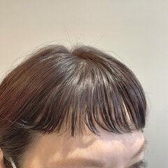 パーマボブ ボブ 前髪 ショートボブ ヘアスタイルや髪型の写真・画像