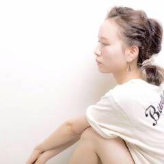 ボブ 夏 フェス ヘアスタイルや髪型の写真・画像