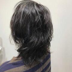 ハイライト ホワイトアッシュ グレージュ ストリート ヘアスタイルや髪型の写真・画像