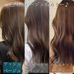 オルチャン デジタルパーマ ハイライト ナチュラル ヘアスタイルや髪型の写真・画像