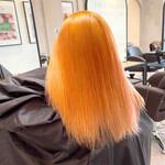 ガーリー オレンジカラー オレンジ ビビッドカラー