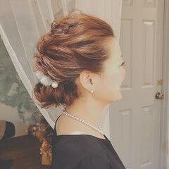 デート クリスマス フェミニン ロング ヘアスタイルや髪型の写真・画像