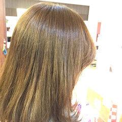 ストリート 外国人風 セミロング 渋谷系 ヘアスタイルや髪型の写真・画像