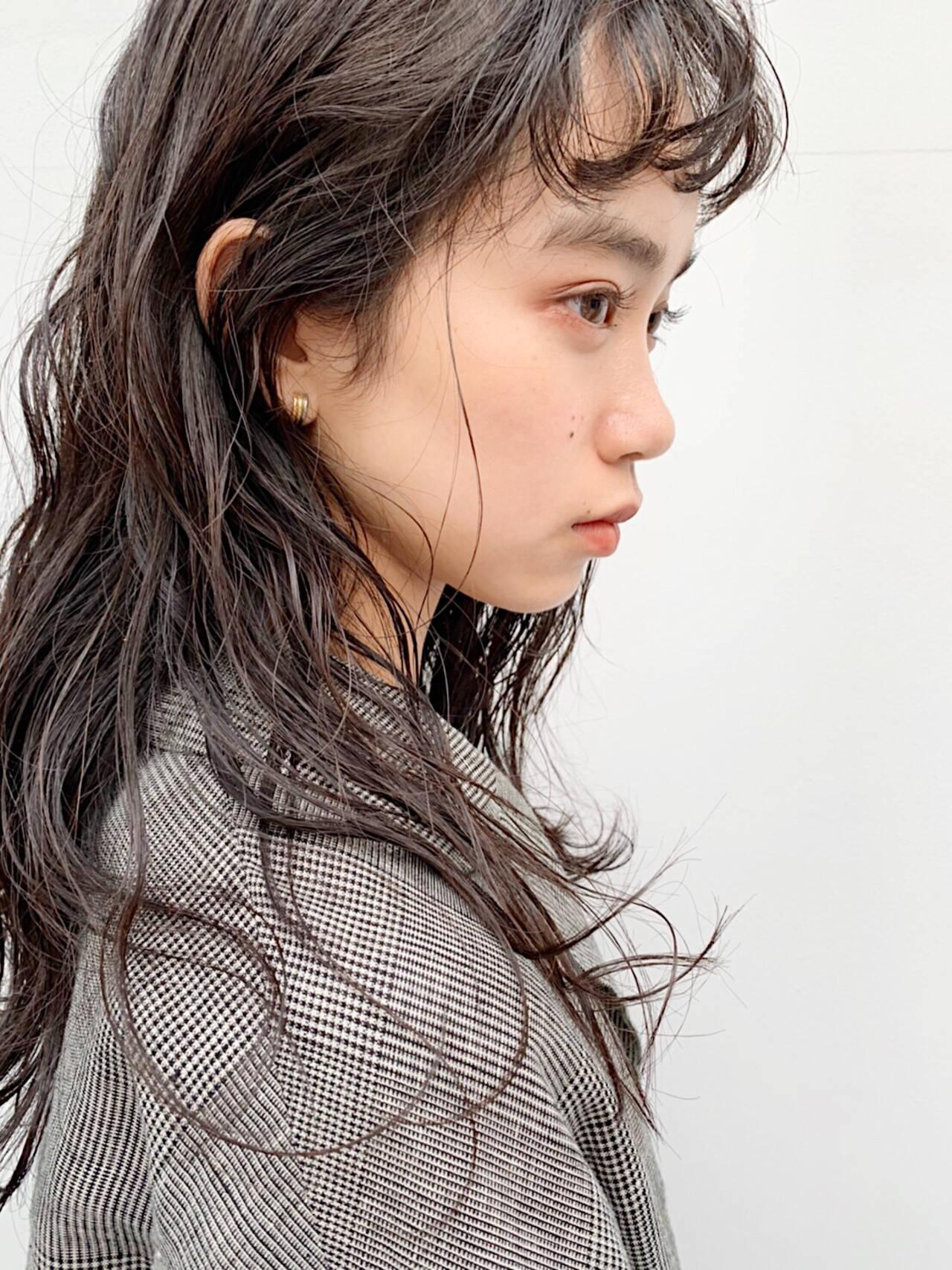 ロングヘアスタイル ロング 大人ロング パーマヘアスタイルや髪型の写真・画像