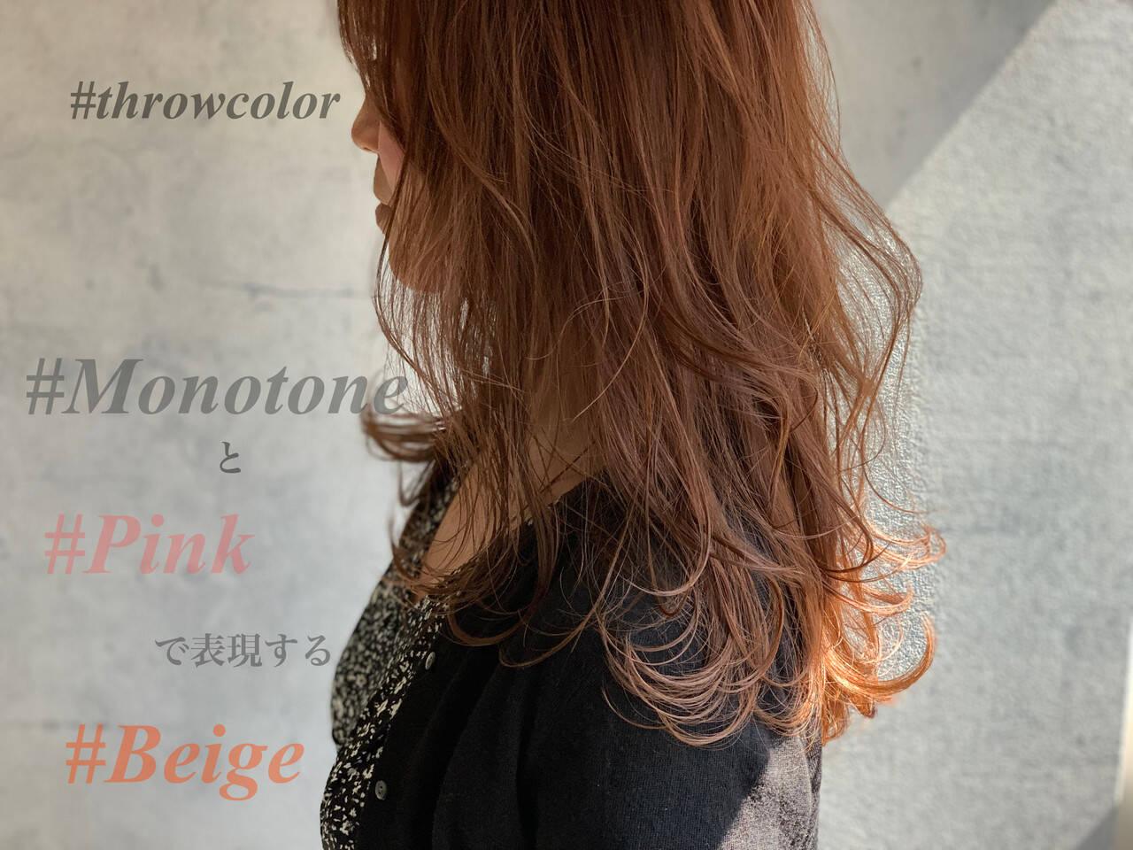 ベージュ アッシュベージュ ヌーディーベージュ ナチュラルヘアスタイルや髪型の写真・画像