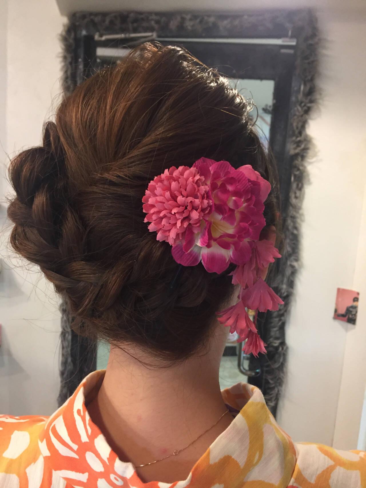 結婚式 ヘアアレンジ 成人式 アンニュイほつれヘアヘアスタイルや髪型の写真・画像