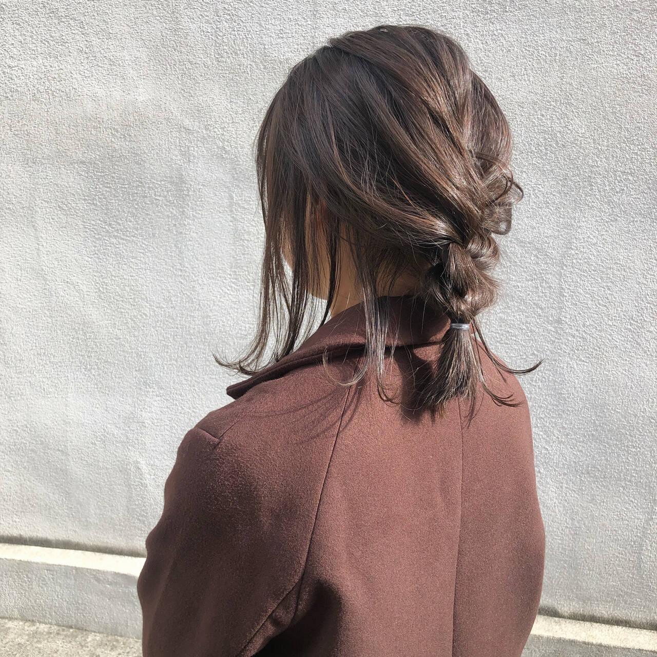 デート ナチュラル アンニュイほつれヘア ヘアアレンジヘアスタイルや髪型の写真・画像