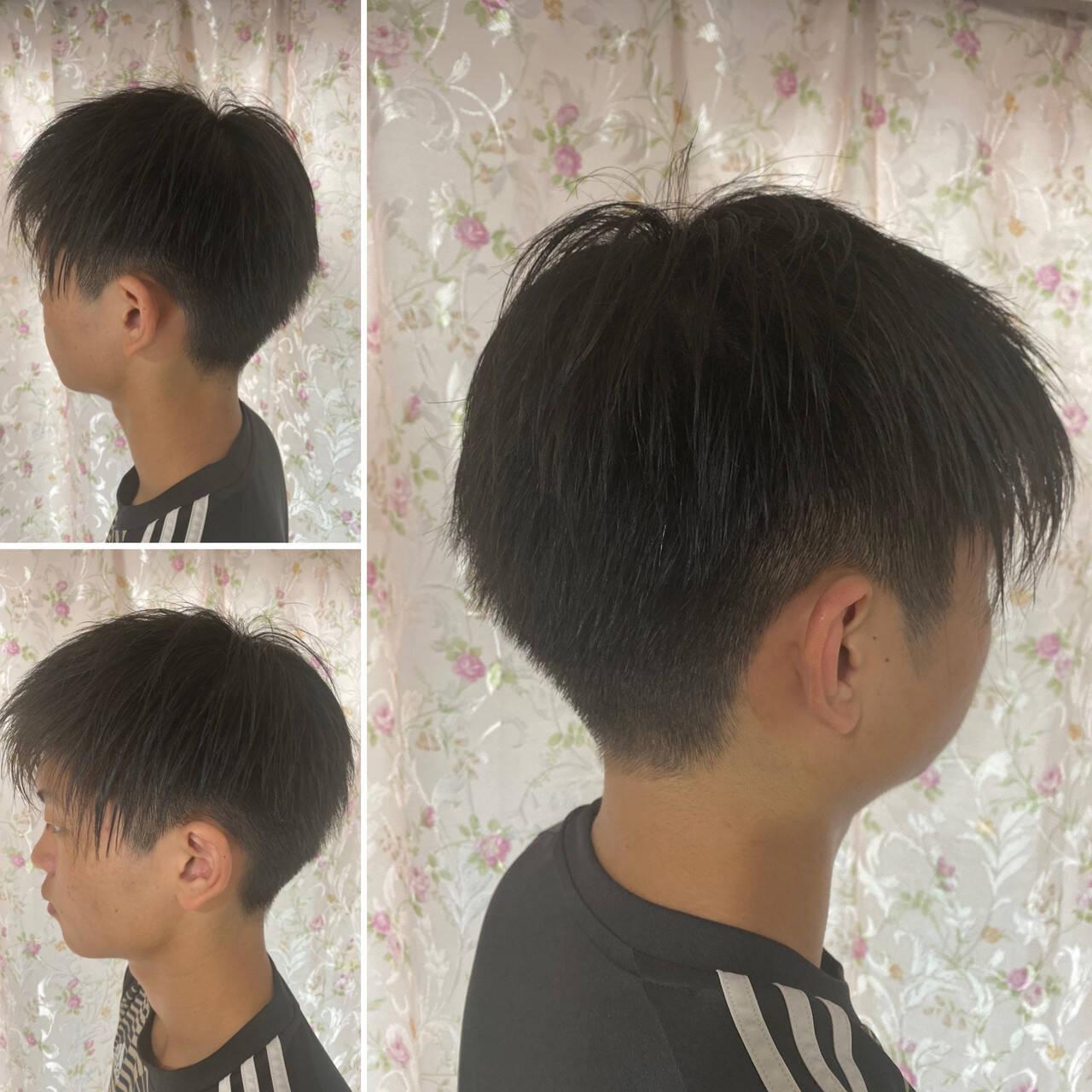 ストリート フェードカット ベリーショート スキンフェードヘアスタイルや髪型の写真・画像