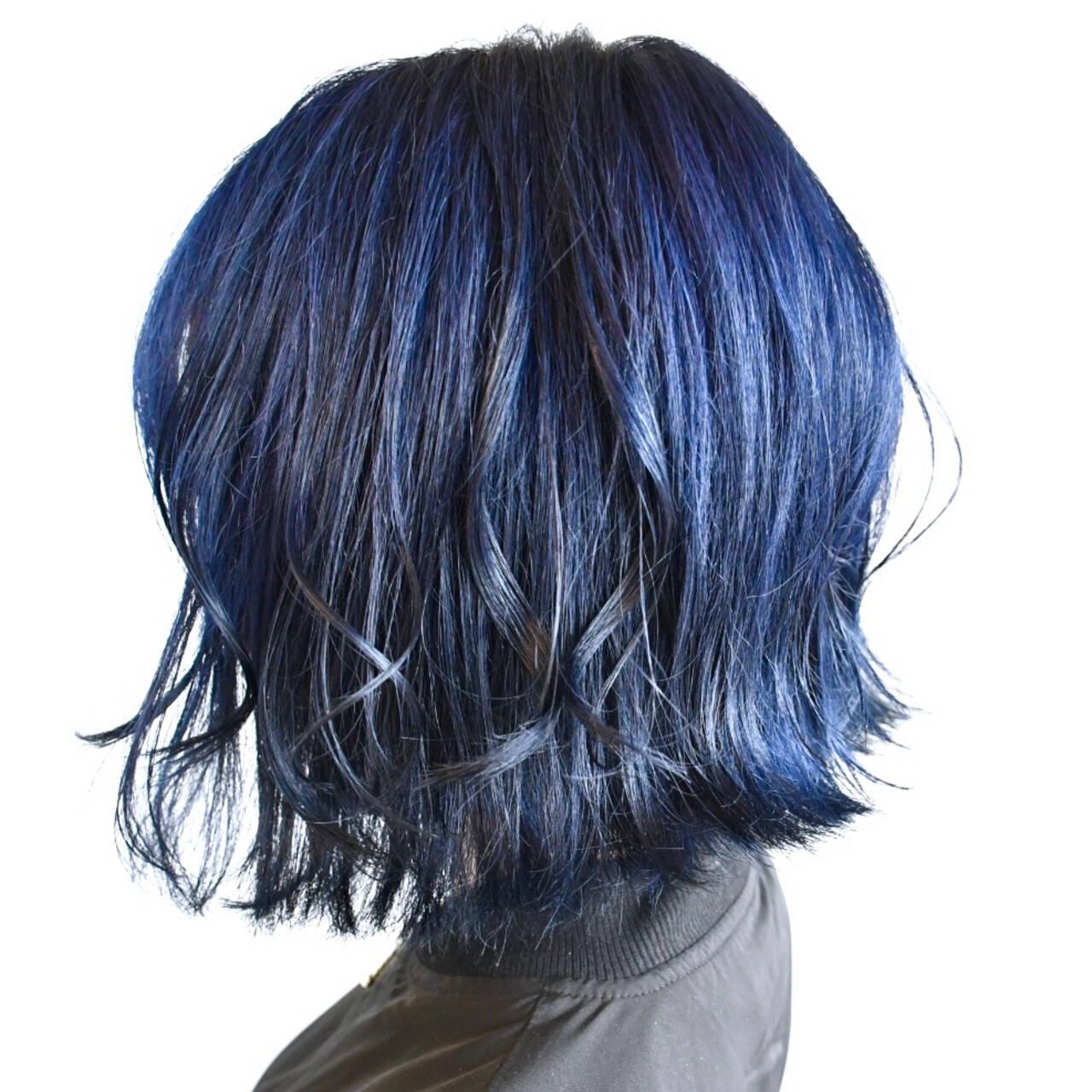 デート ボブ ストリート ミニボブヘアスタイルや髪型の写真・画像