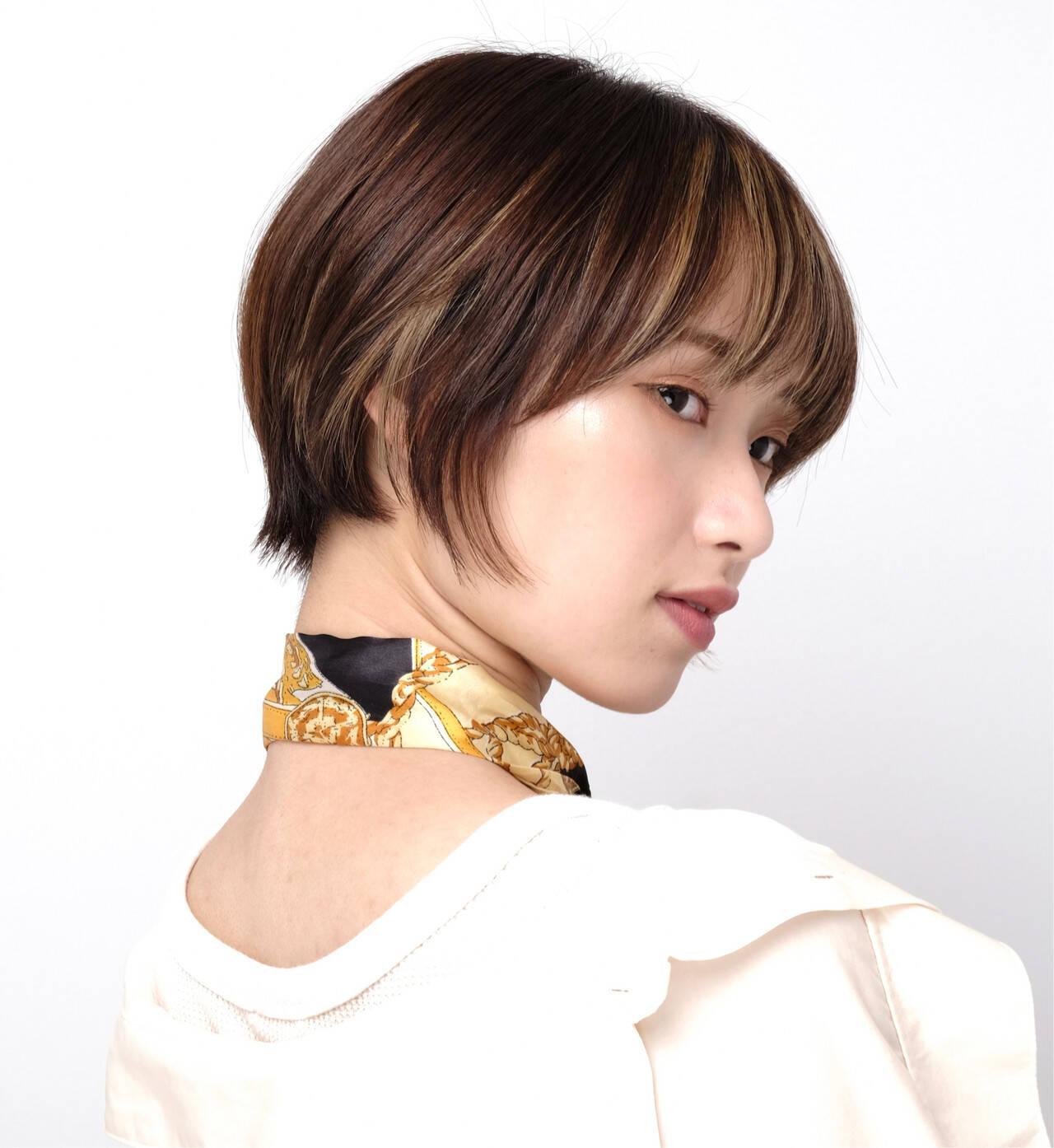 ショートボブ 阿藤俊也 ショートヘア PEEK-A-BOOヘアスタイルや髪型の写真・画像