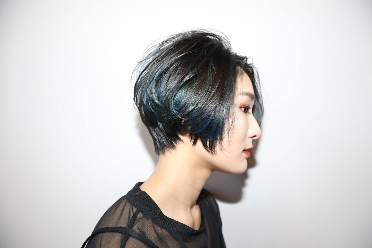 ショート ショートボブ ショートヘア モードヘアスタイルや髪型の写真・画像