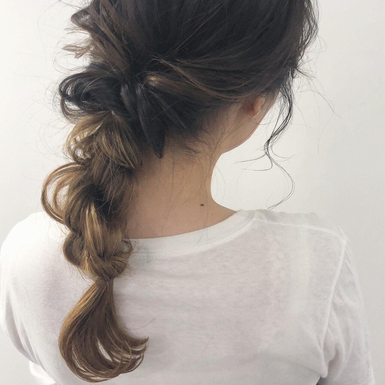 デート ミディアム 成人式 オフィスヘアスタイルや髪型の写真・画像