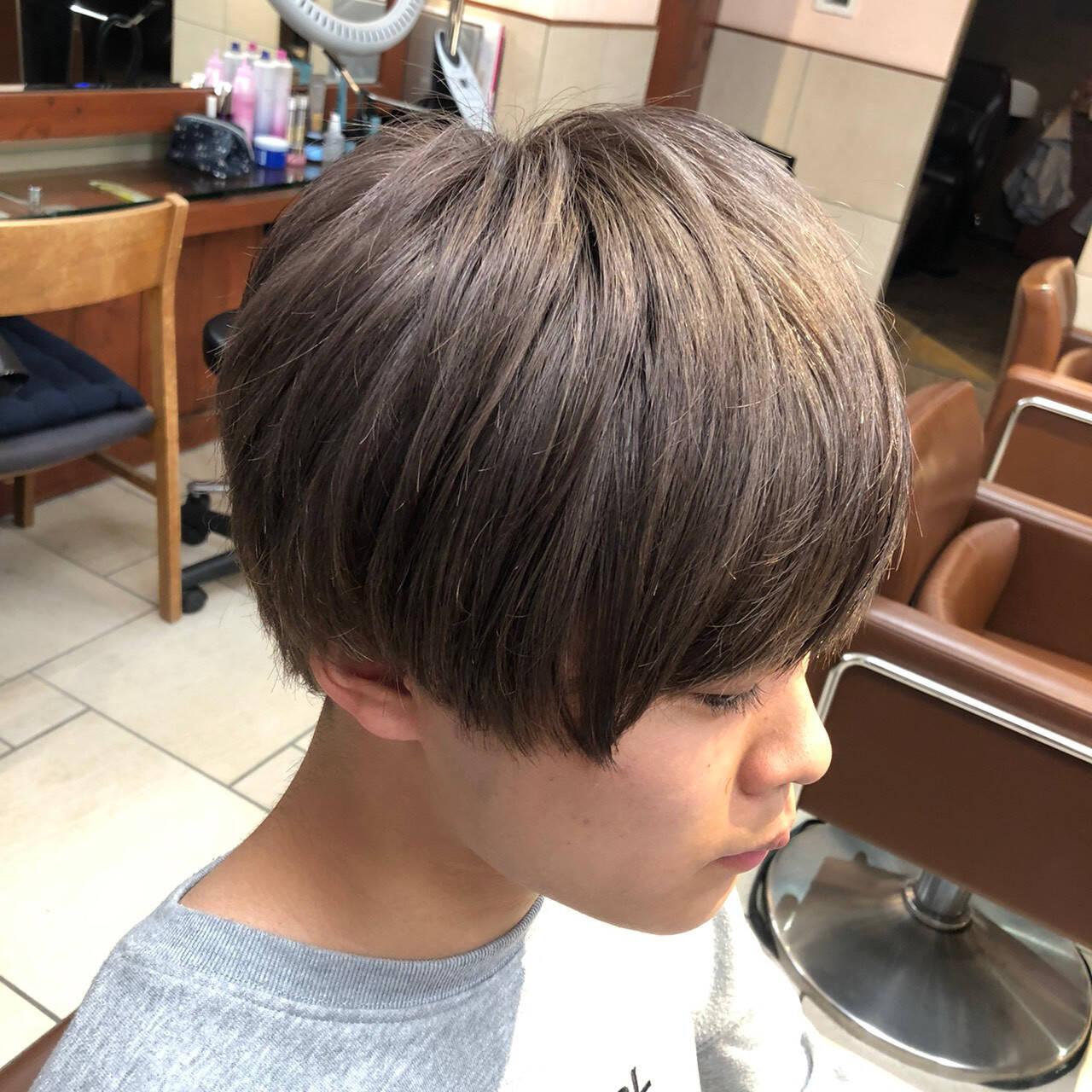 メンズスタイル メンズカラー ショート ストリートヘアスタイルや髪型の写真・画像