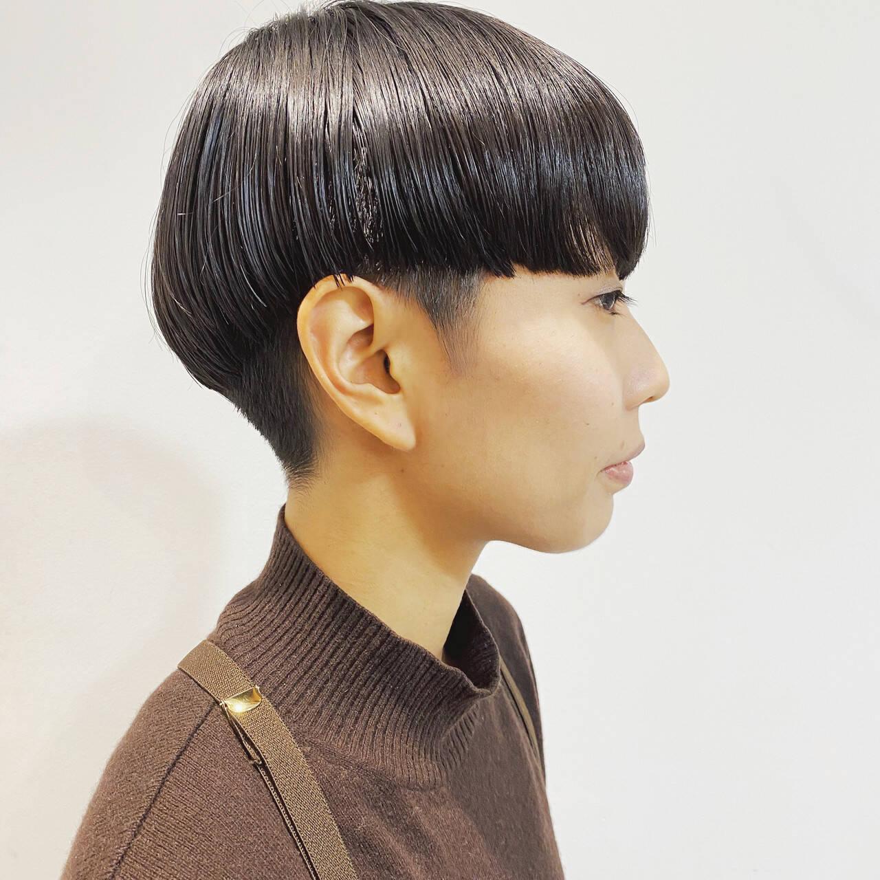 モード ショート 大人ショート ショートヘアヘアスタイルや髪型の写真・画像