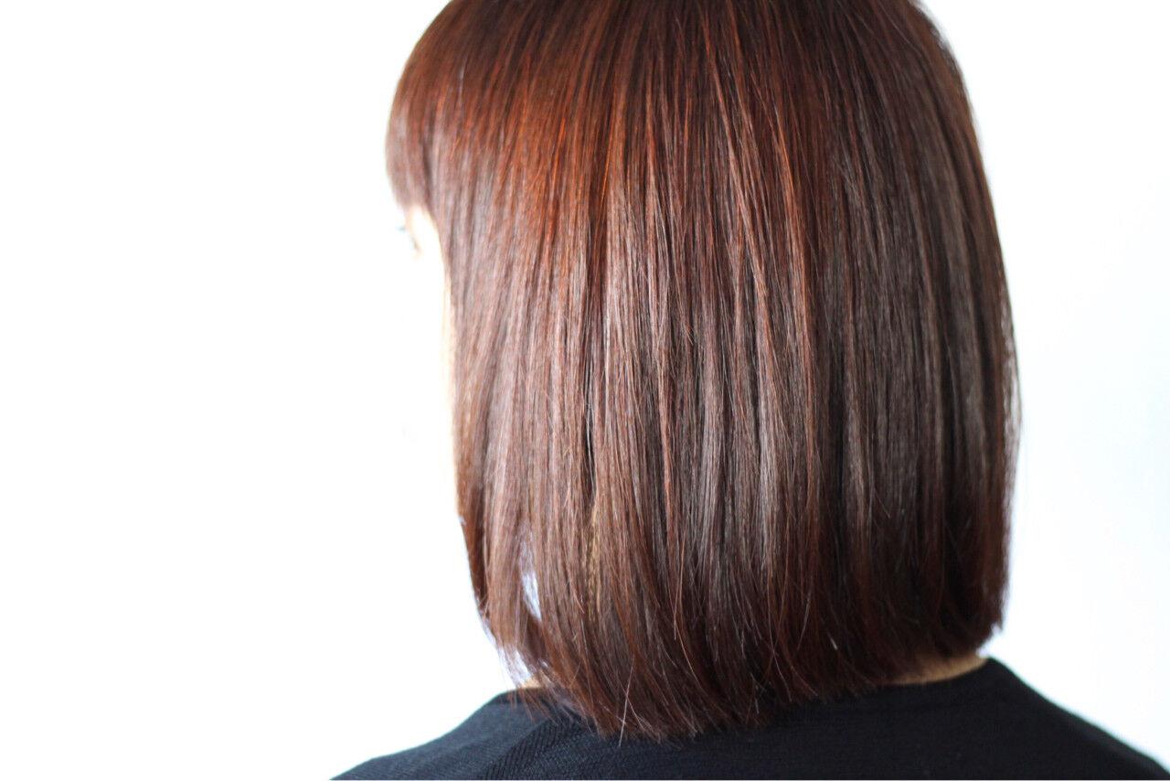 ラベンダー ラベンダーピンク ナチュラル ミディアムヘアスタイルや髪型の写真・画像