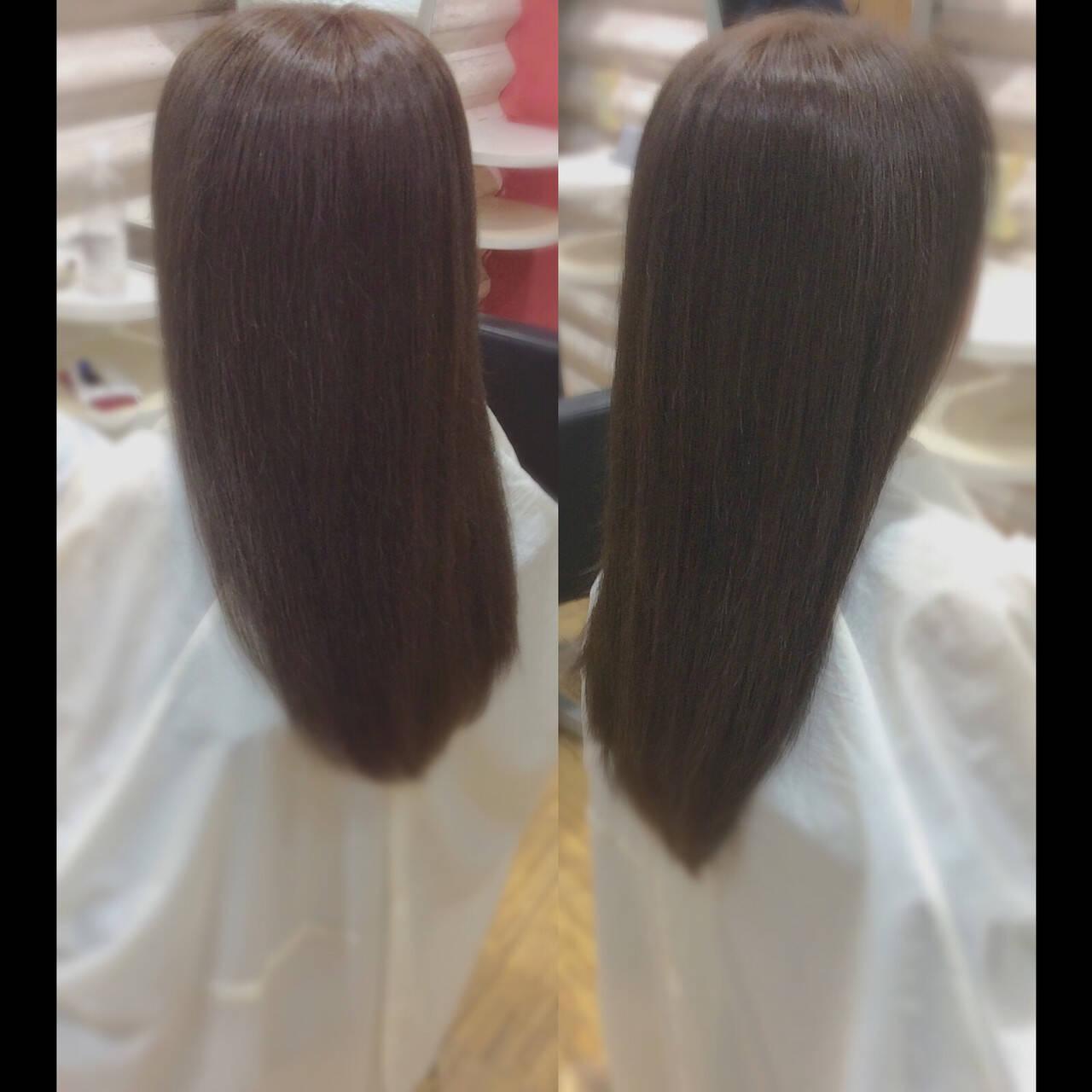 髪質改善 ロング ロングヘアスタイル ロングヘアヘアスタイルや髪型の写真・画像