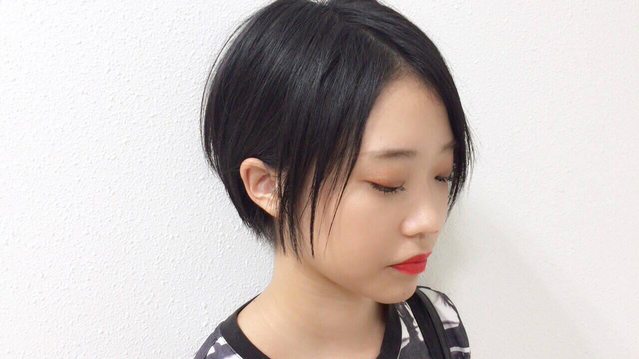 ショート 透明感 小顔 スポーツヘアスタイルや髪型の写真・画像