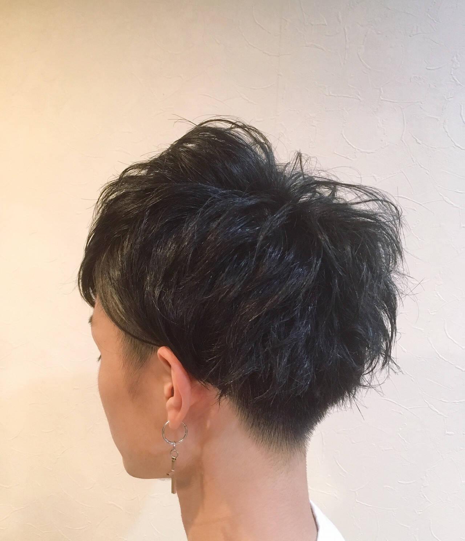 ショート 刈り上げ メンズカット メンズヘアスタイルや髪型の写真・画像