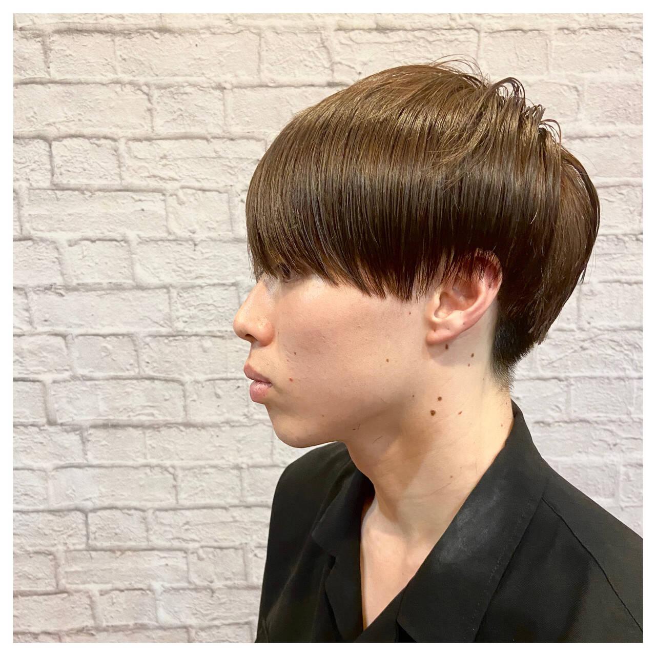 ショートマッシュ ショート メンズカット メンズマッシュヘアスタイルや髪型の写真・画像