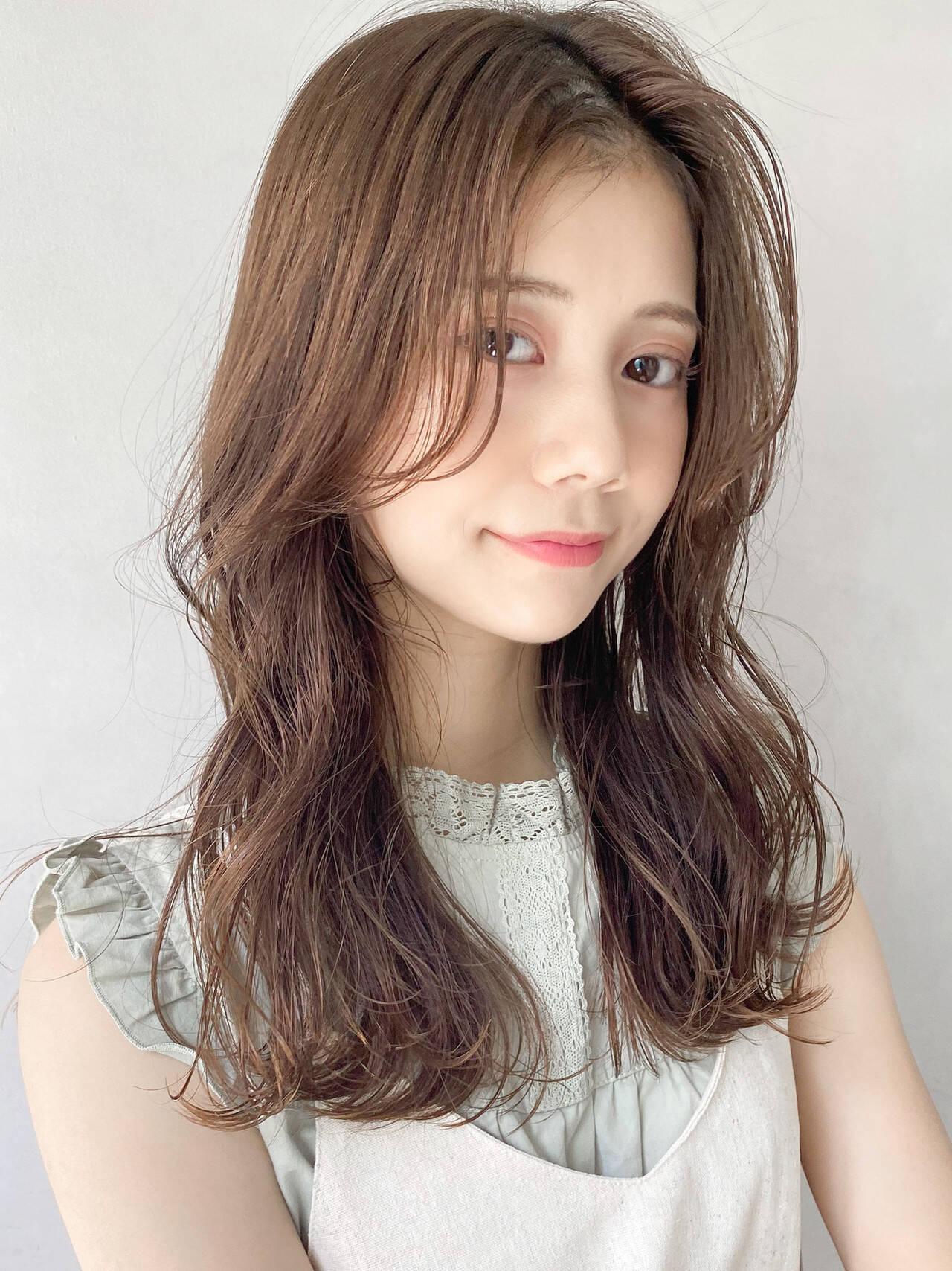ガーリー 愛され アンニュイほつれヘア ゆるふわヘアスタイルや髪型の写真・画像