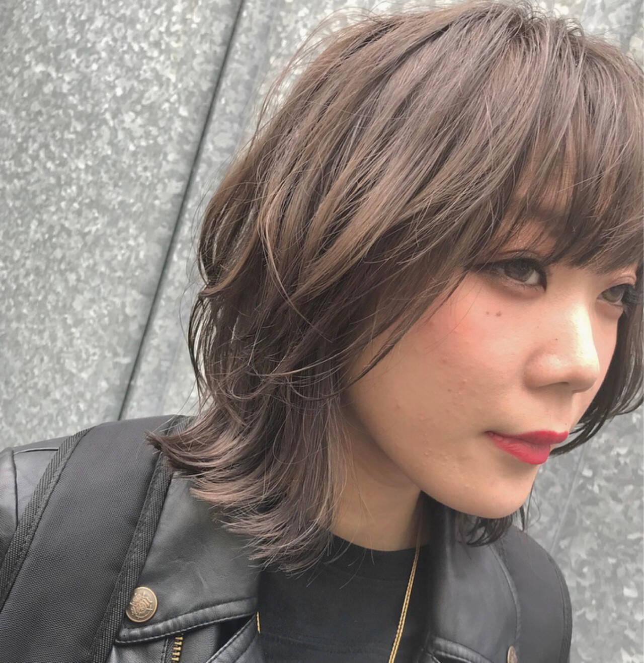 ショート ストリート ウルフカット マッシュヘアスタイルや髪型の写真・画像
