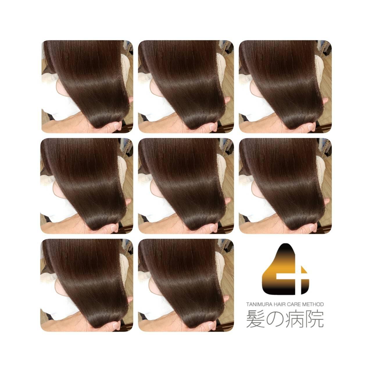 美髪 ナチュラル トリートメント 名古屋市守山区ヘアスタイルや髪型の写真・画像