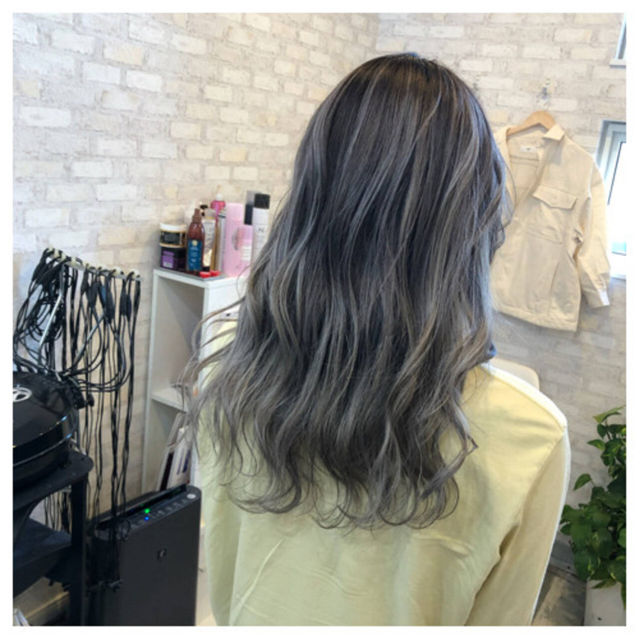 外国人風カラー ストリート バレイヤージュ ブリーチカラーヘアスタイルや髪型の写真・画像
