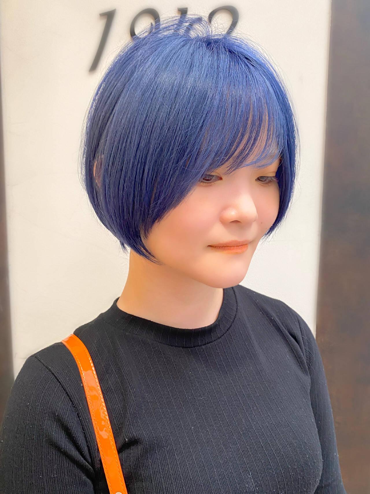 ショート ショートヘア 簡単スタイリング 大人かわいいヘアスタイルや髪型の写真・画像