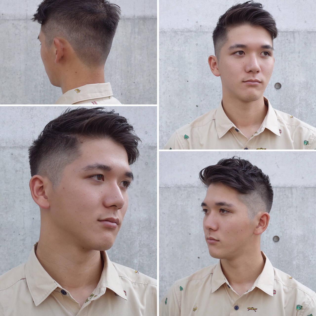 刈り上げ メンズ メンズヘア ショートヘアスタイルや髪型の写真・画像