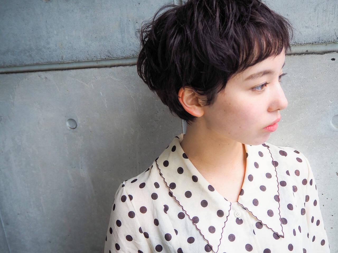 大人ヘアスタイル グレージュ ショート 外国人風ヘアスタイルや髪型の写真・画像