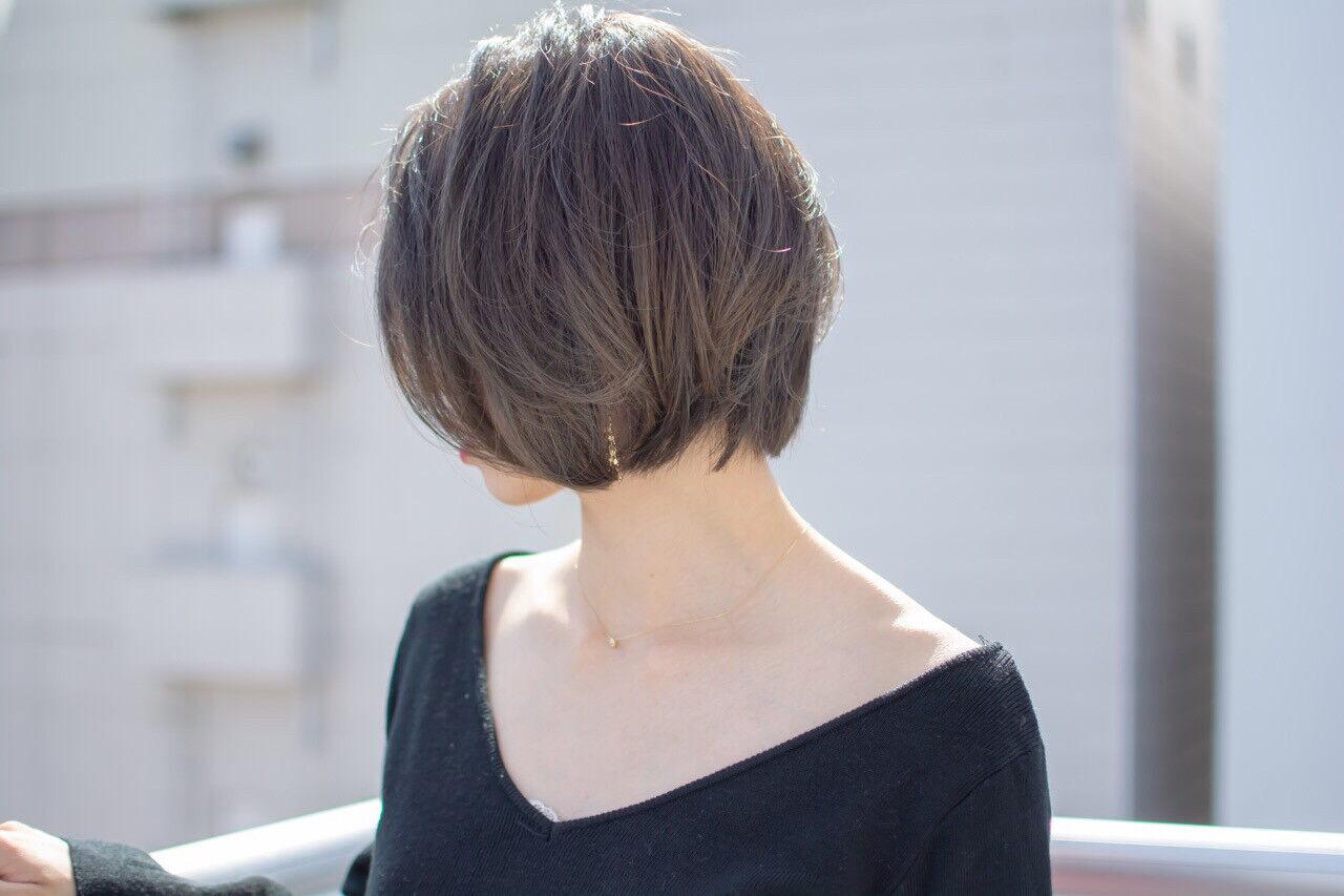 エフォートレス フェミニン 大人かわいい オフィスヘアスタイルや髪型の写真・画像