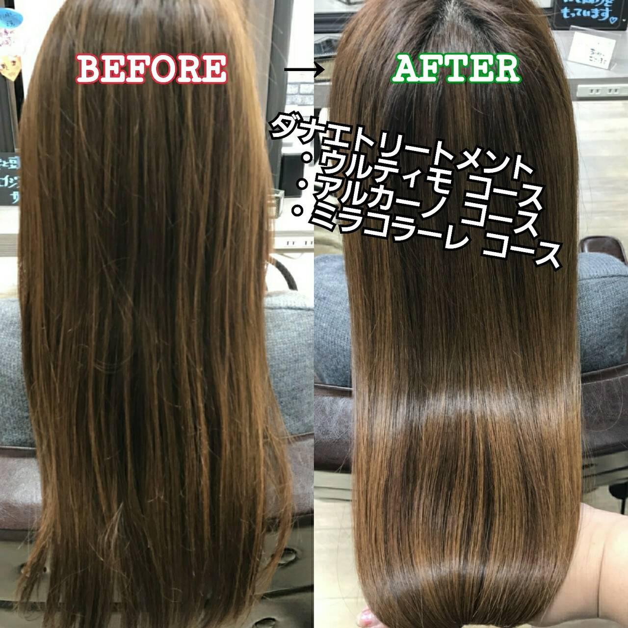 名古屋市守山区 美髪 髪の病院 ロングヘアスタイルや髪型の写真・画像