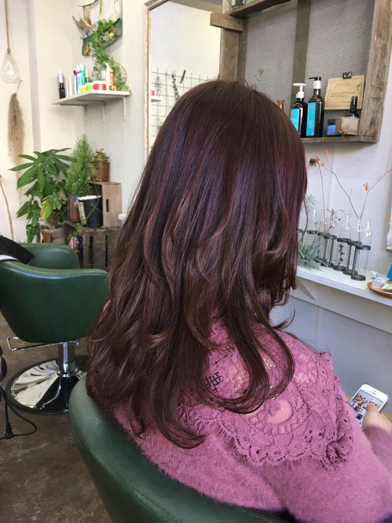 モード セミロングヘアスタイルや髪型の写真・画像