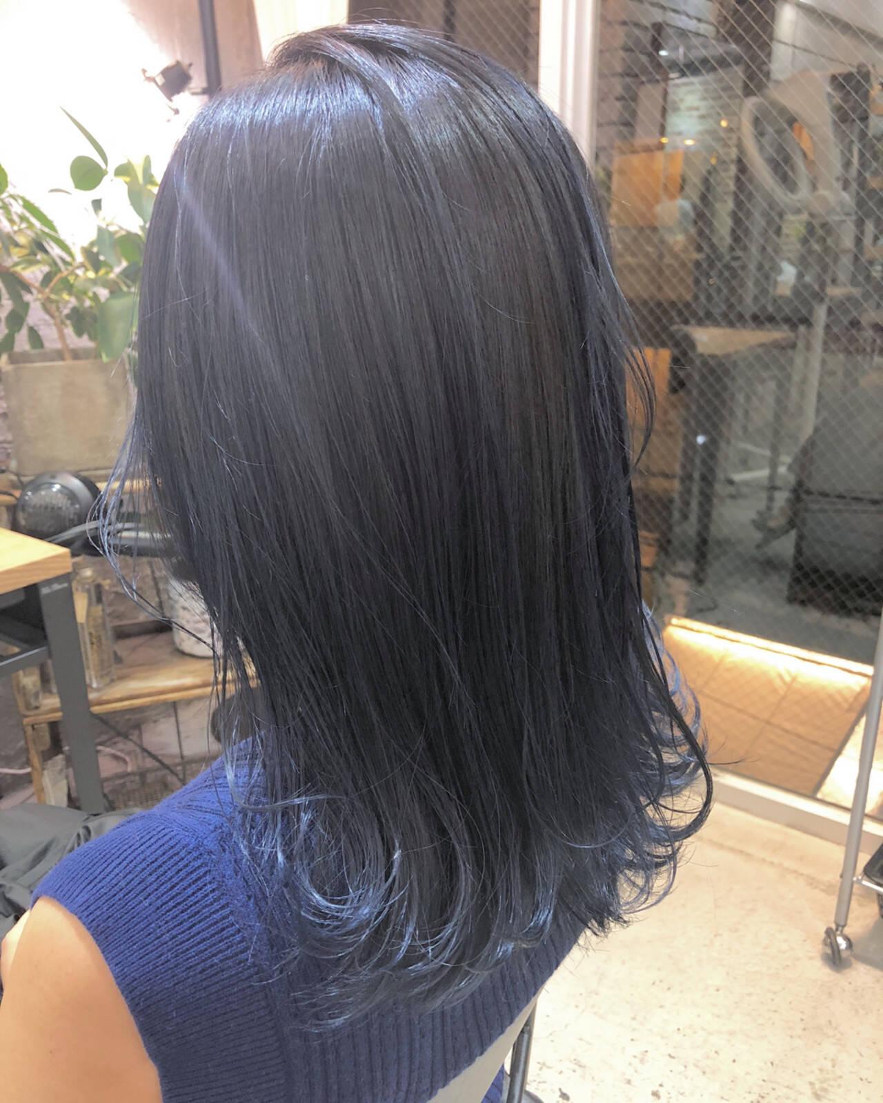 エフォートレス ミディアム ヘアアレンジ 簡単ヘアアレンジヘアスタイルや髪型の写真・画像