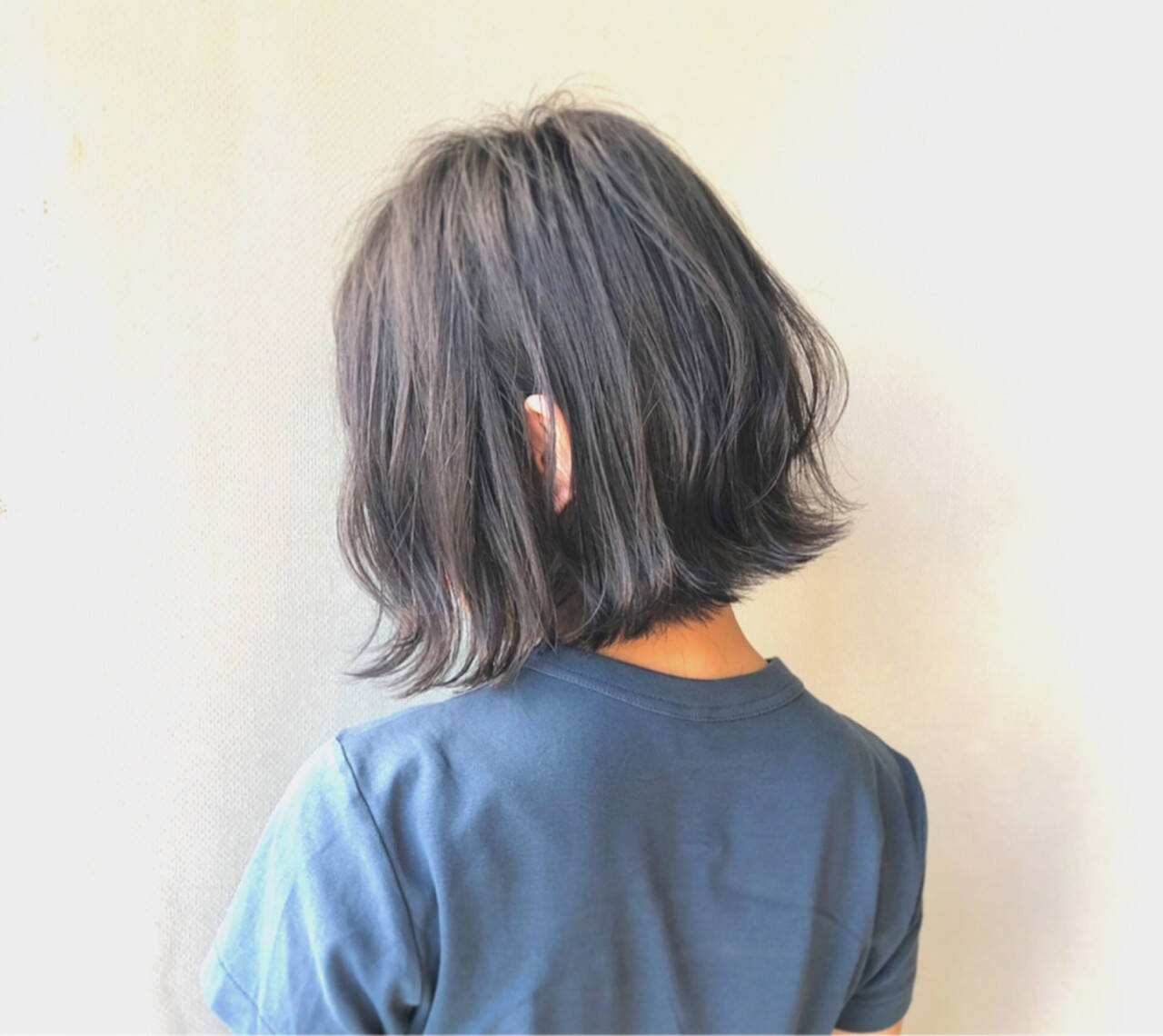 透明感 ナチュラル 暗髪 ボブヘアスタイルや髪型の写真・画像