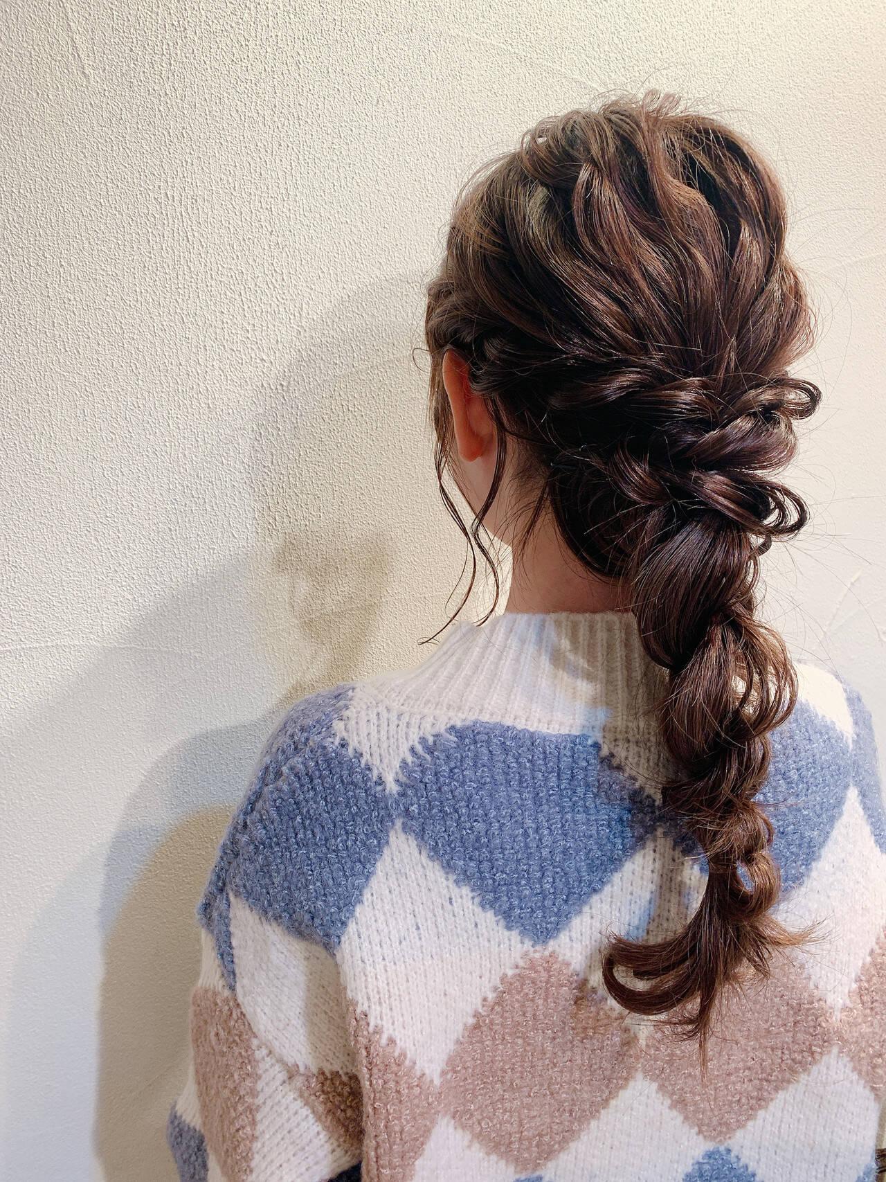 ロング お呼ばれ お呼ばれヘア ヘアアレンジヘアスタイルや髪型の写真・画像