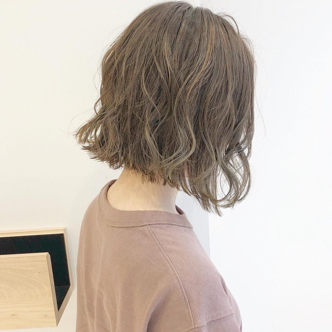 ナチュラル ボブ デート 簡単ヘアアレンジヘアスタイルや髪型の写真・画像