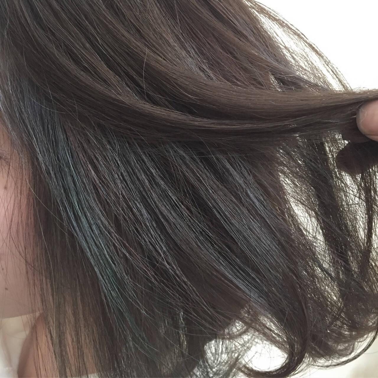 ハイライト ストリート 暗髪 色気ヘアスタイルや髪型の写真・画像