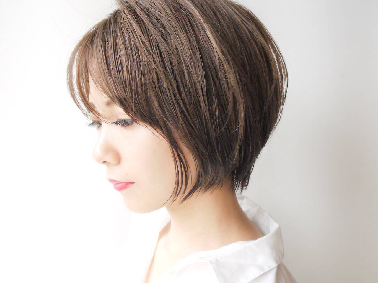 エフォートレス ショート 女子力 大人かわいいヘアスタイルや髪型の写真・画像