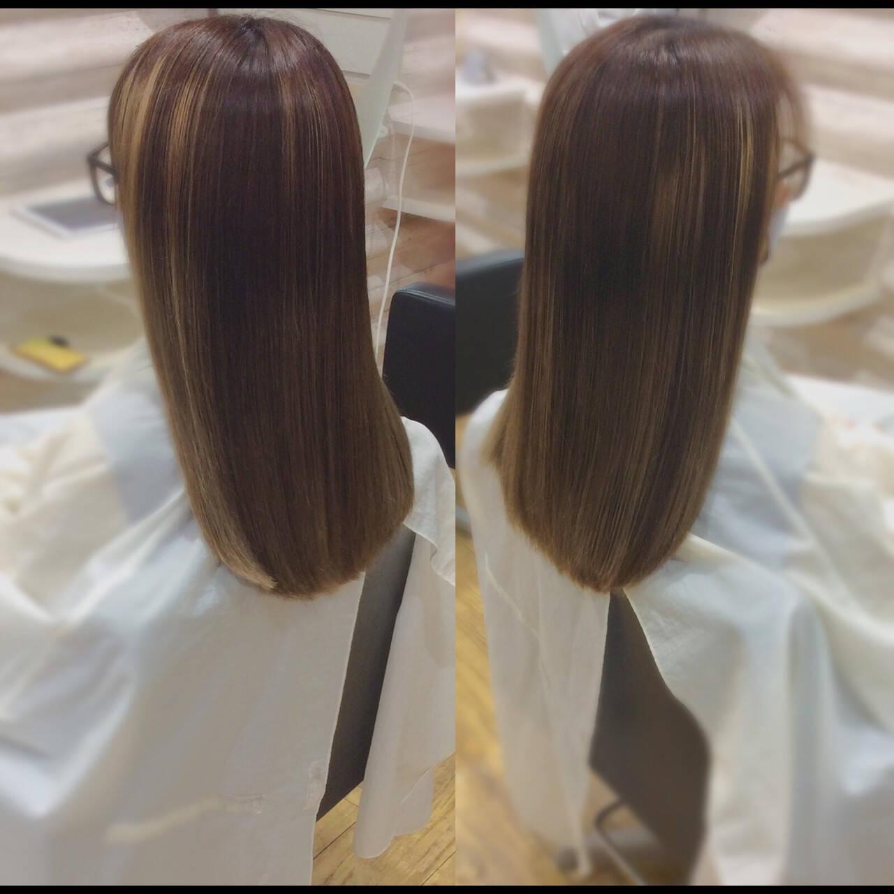 髪質改善 ロングヘアスタイル ロング 髪質改善トリートメントヘアスタイルや髪型の写真・画像
