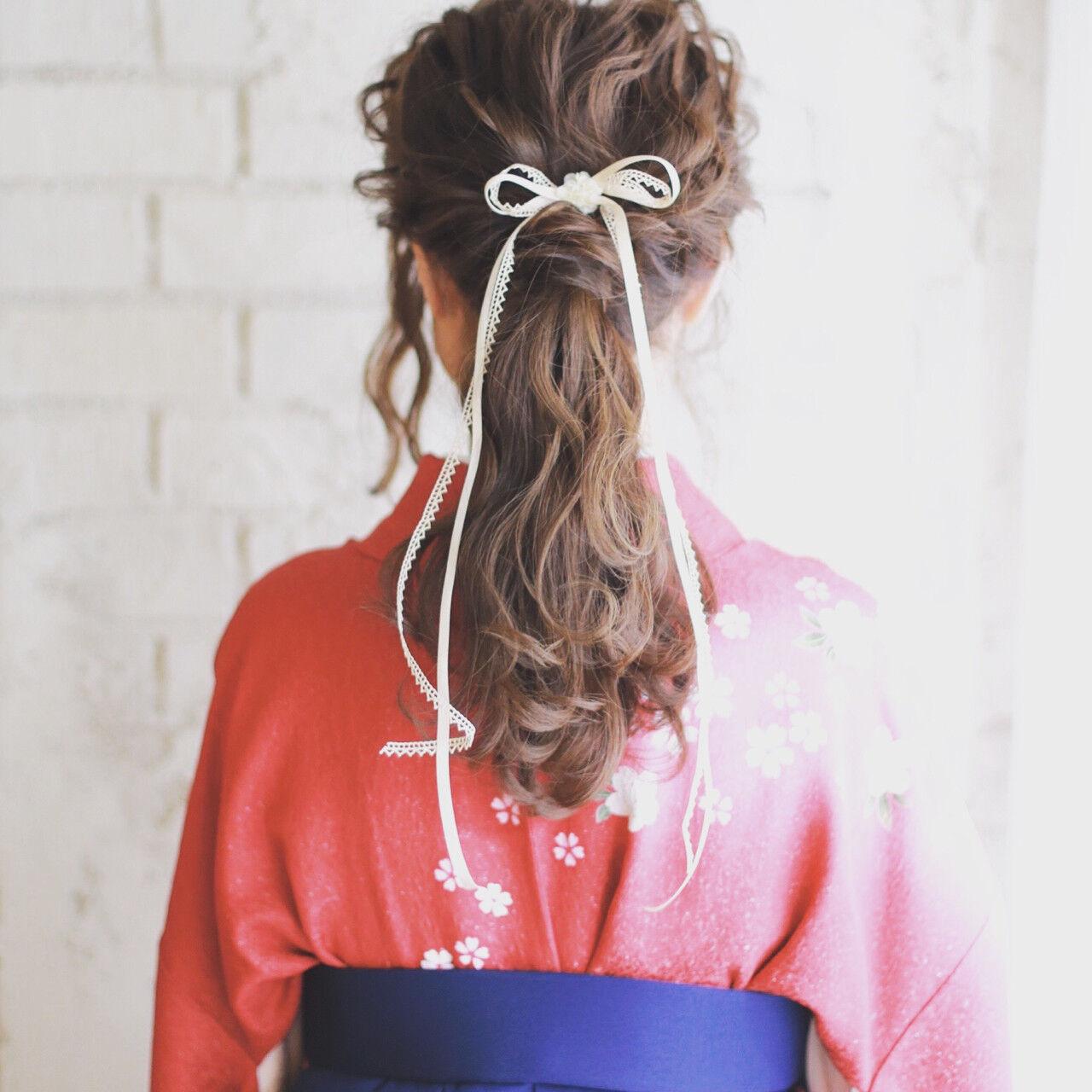 ロング 成人式 謝恩会 ショートヘアスタイルや髪型の写真・画像