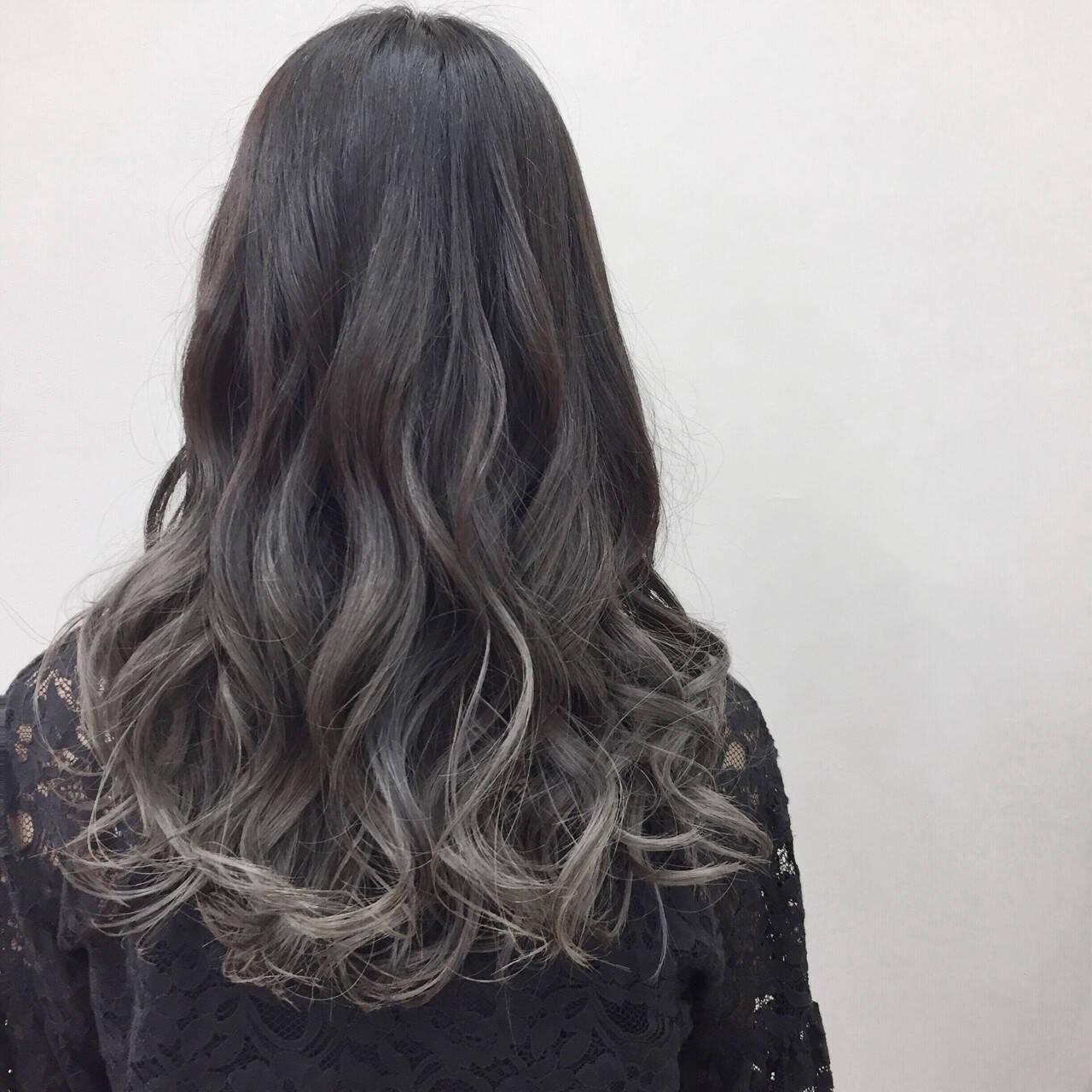 ハイライト 大人かわいい モード ロングヘアスタイルや髪型の写真・画像