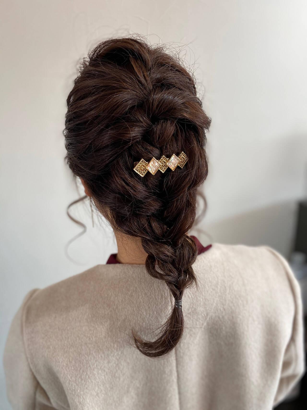 ナチュラル ロング 中津市ヘアセット ヘアセットヘアスタイルや髪型の写真・画像