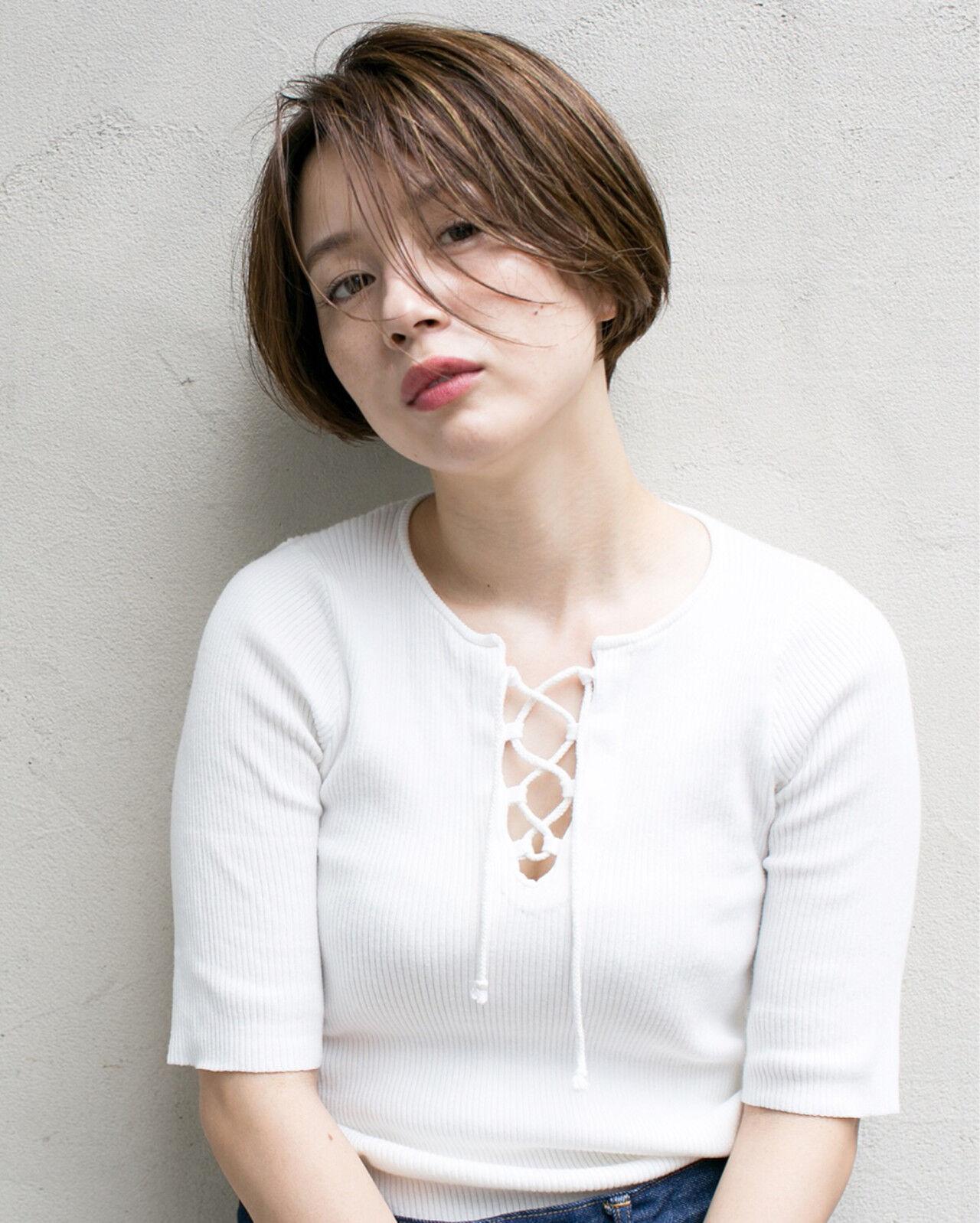 ハイライト グラデーションカラー 外国人風 大人かわいいヘアスタイルや髪型の写真・画像