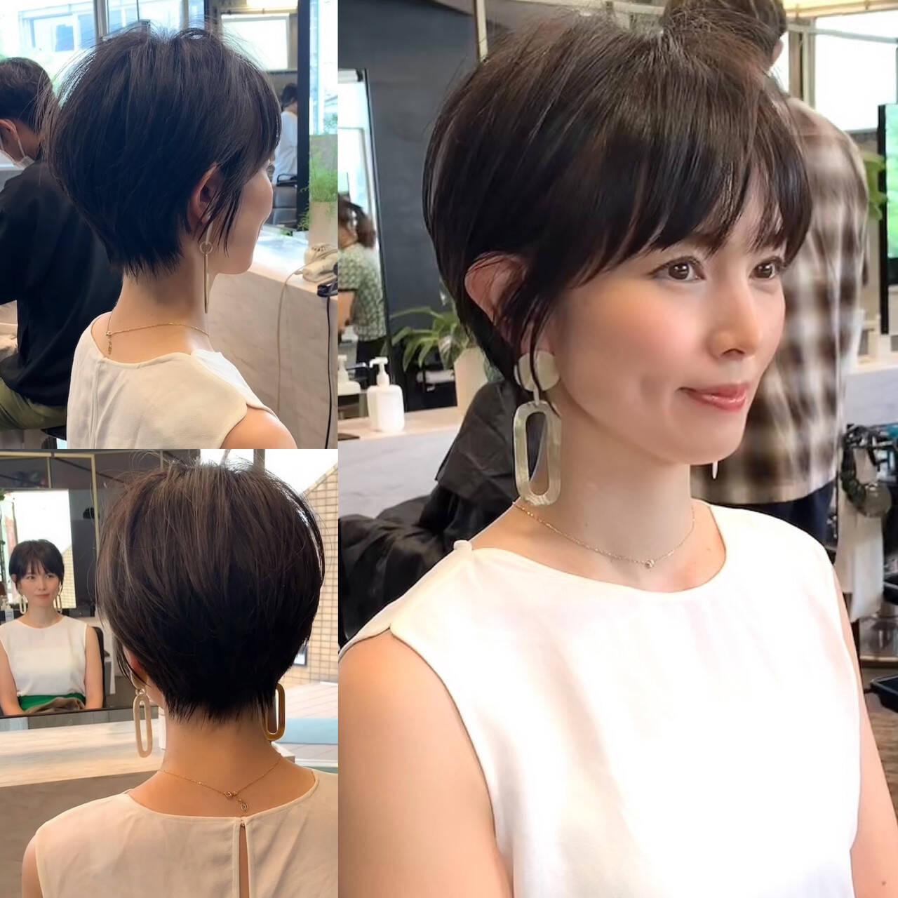 長澤まさみ パーマ ショート 田丸麻紀ヘアスタイルや髪型の写真・画像