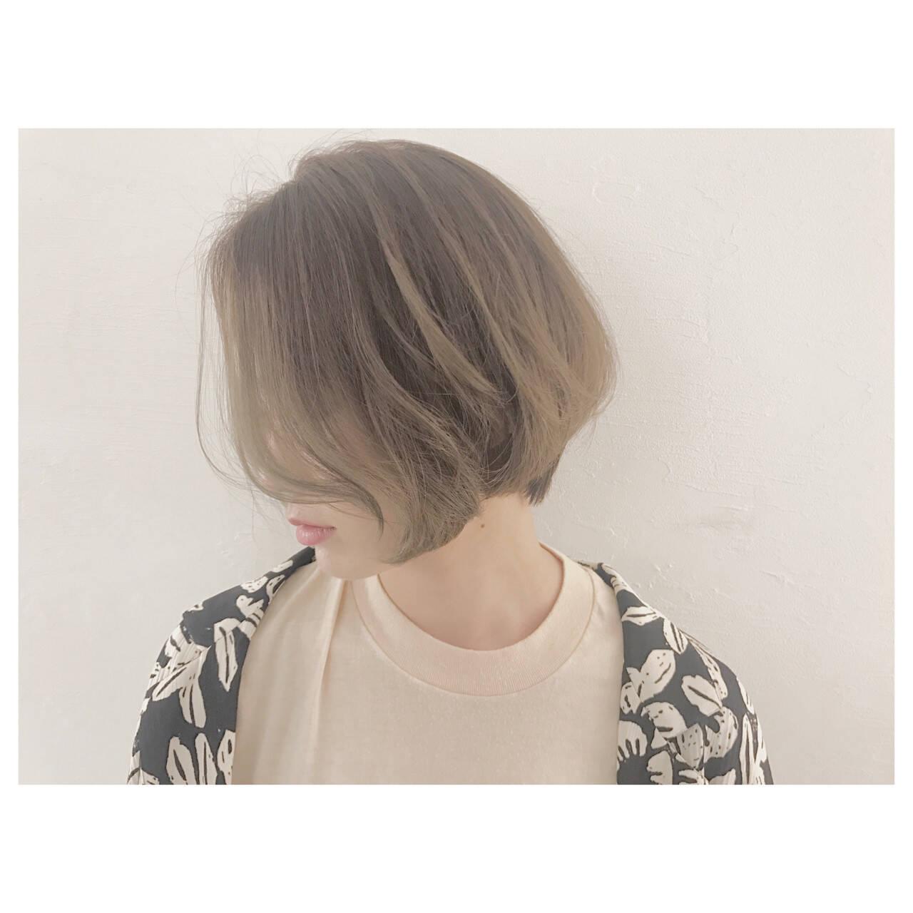 ハイライト ナチュラル ウェーブ リラックスヘアスタイルや髪型の写真・画像