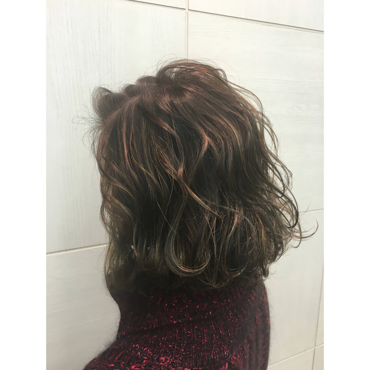 グラデーションカラー ストリート ハイライト 外国人風ヘアスタイルや髪型の写真・画像