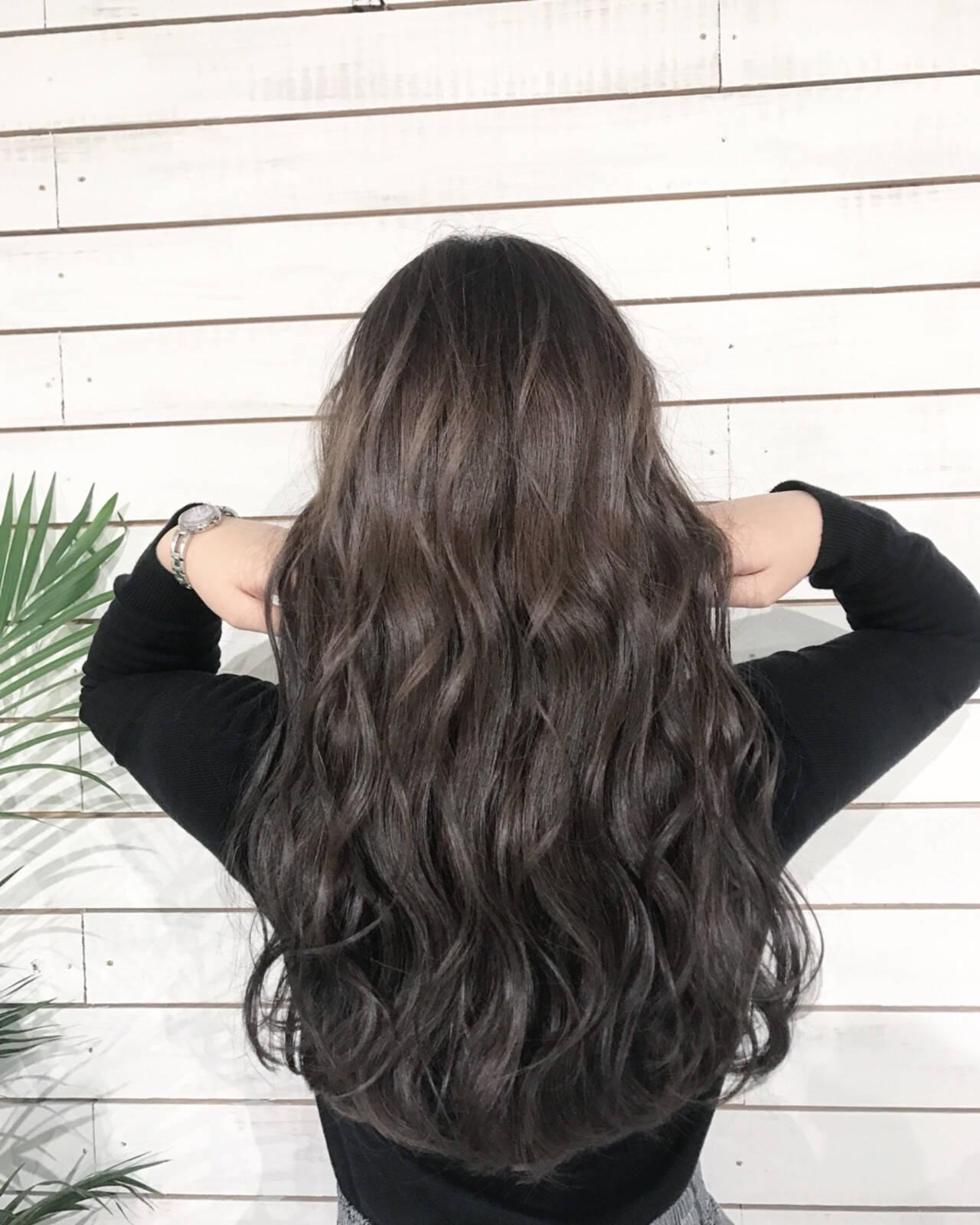 オフィス ストリート 黒髪 デートヘアスタイルや髪型の写真・画像